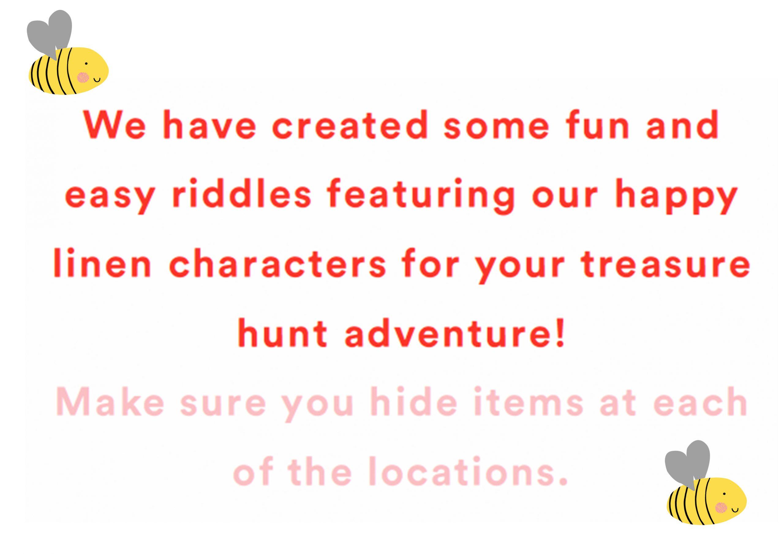 At home treasure hunt